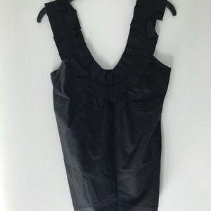 Zara tank top with pleat detail